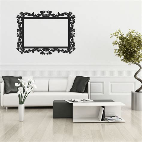 frame stickers for walls wallstickers folies frame wall stickers