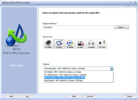 converter flac to mp3 download free all free flac to mp3 converter by