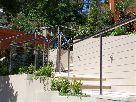 Contemporary Banisters Colorfen Constructions Fencing Projects Stainless
