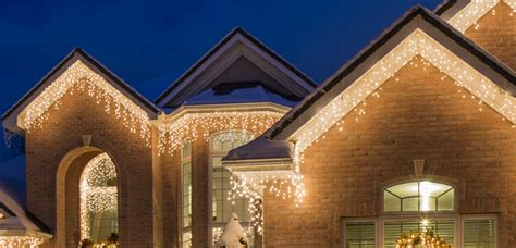 classic christmas light icicle lights