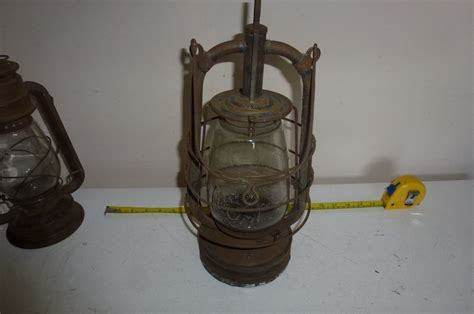 antique hurricane ls value rare vintage storm lantern hurricane lamp circa1930 s