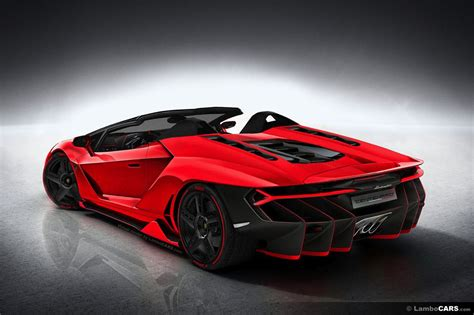 How Is Lamborghini This Is What Lamborghini Centenario Roadster Should Look Like