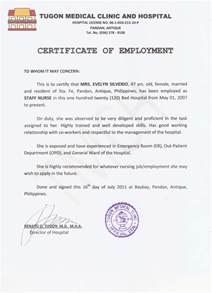 sle of employment certificate template certificate of employment template template design