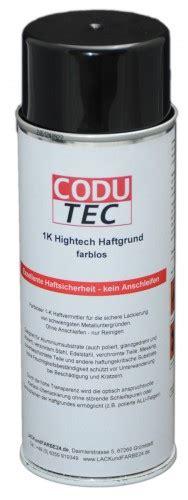 Edelstahl Grundieren Lackieren by Codu Tec 1k Hightech Metall Haftgrund Spray 400 Ml Cd 1k