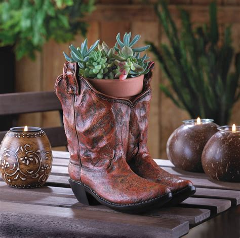 Cowboy Boot Planter Wholesale At Koehler Home Decor Boot Planter