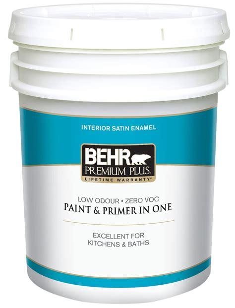 Behr Discount by Behr Premium Plus Interior Satin Enamel Paint Ultra