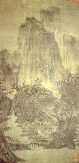 buddhist temple   hills  rain flickr photo
