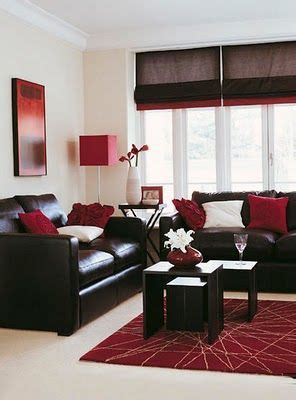 red black and white living room probably a more realistic design option since the walls