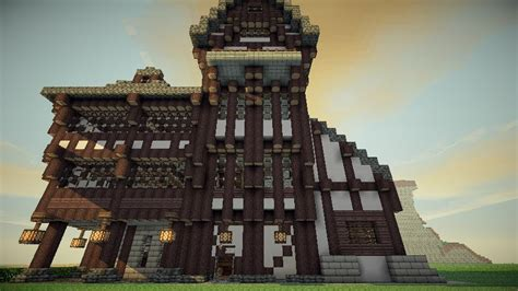 medieval minecraft house designs large medieval house design minecraft project