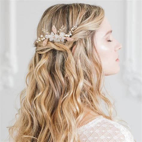 Wedding Hairstyles Combs by Floral Wedding Hair Comb By Britten Weddings