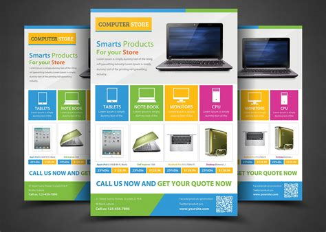 real estate advertising flyer template advertising marketing
