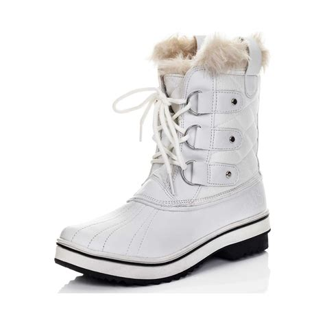 snow boots spylovebuy wolf lace up flat winter snow boots