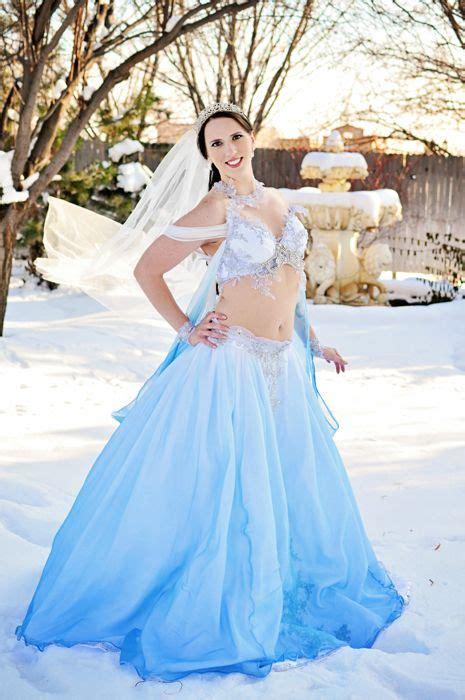 bellydancer s winter theme wedding gown 187 firefly path belly fireflies