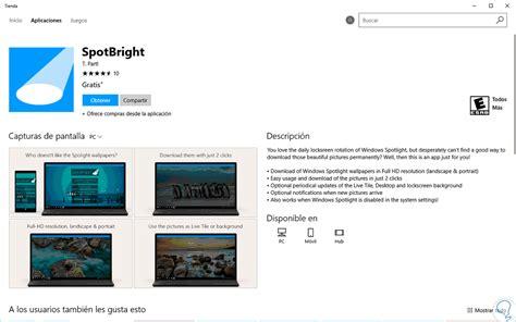 descargar imagenes windows 10 activar o descargar fondos de pantalla bloqueo windows 10