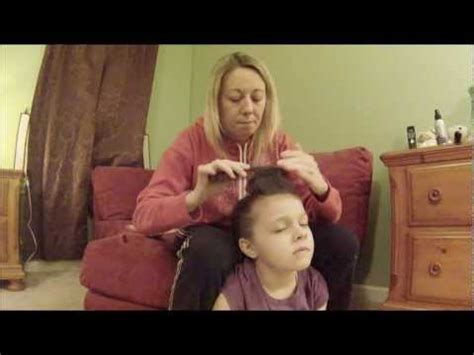 straight puffy cheer ponytail cheer hair how to do a mini bump poof with a straight