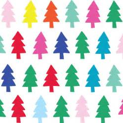 christmas tree wrapping paper by toby tiger