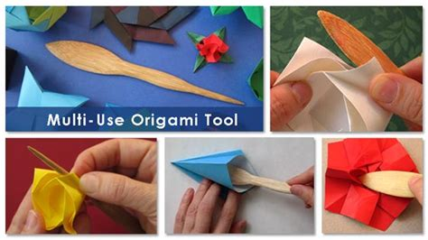 Origami Tools - make an origami rabbit as an easter egg holder