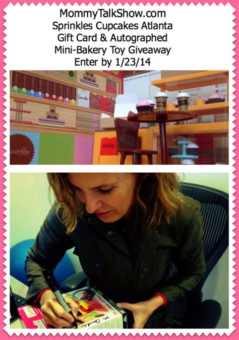Sprinkles Gift Card - sprinkles cupcakes atlanta opens gift card giveaway