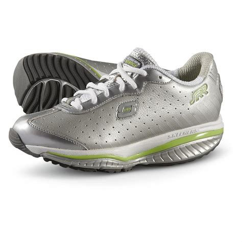 silver athletic shoes s skechers 174 resistance runner defiance ssr athletic