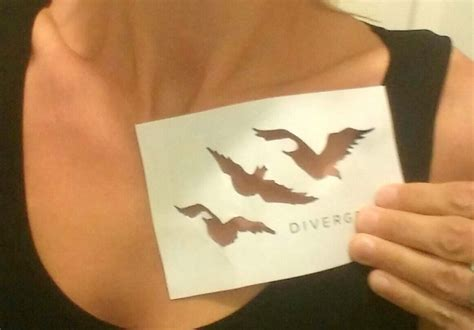 tris tattoos last minute costume idea divergent tris