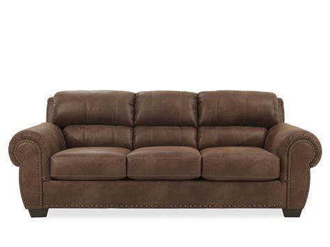 ashley furniture brown sofa ashley burnsville brown sofa mathis brothers furniture