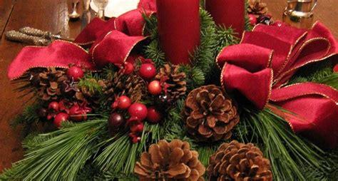 fiori natalizi fai da te centrotavola natalizi fai da te il decoupage