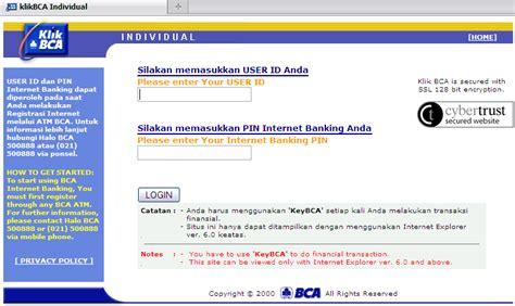 bca internet banking bisnis perbandingan penggunaan internet banking bca mandiri dan