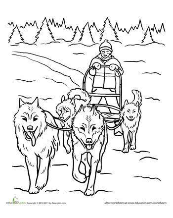 worksheets life skills lesson teamwork dog sled