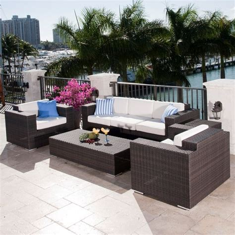 resort outdoor wicker lounge chair contemporary patio