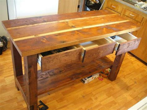 kitchen island made from reclaimed wood 30 best images about ideas for reclaimed wood kitchen