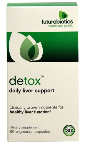 Liver Detox Odor by Futurebiotics Detox Daily Liver Support 60 Vegetarian