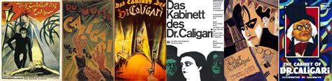 the cabinet of dr caligari poster banner socialpsychol