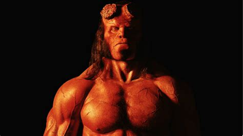 here s your look at here s your official look at david harbour as hellboy nerdist