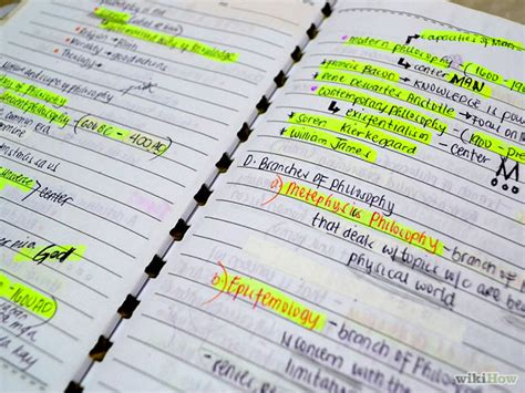 How To Make Paper Notes - an illogical great idea tips for study notes