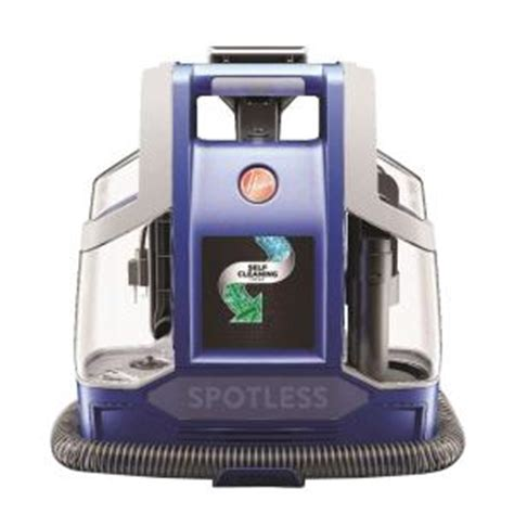 upholstery cleaner home depot hoover spotless portable carpet and upholstery cleaner