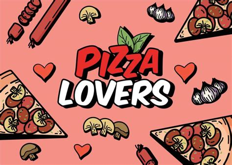 Pizza Lover pizza lover free vector stock graphics