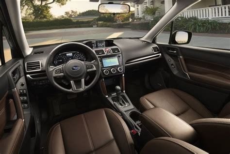 subaru forester interior subaru s 2017 forester starts at 22 595 news