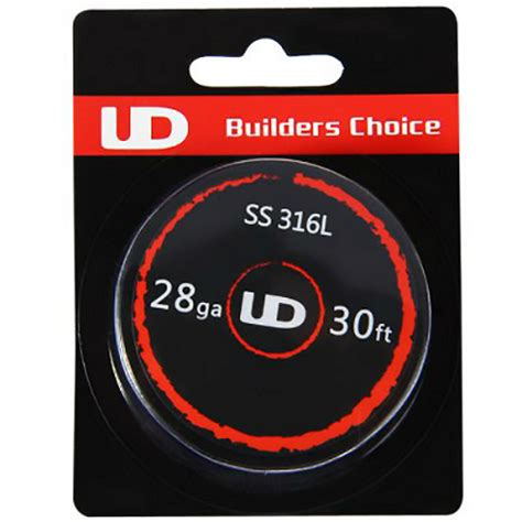 Ud Ss 316l 26 Ga 30 Youde Stainless Steel 26 Awg vaping accessories ud ss 316l 28 wire 30ft 9 15m