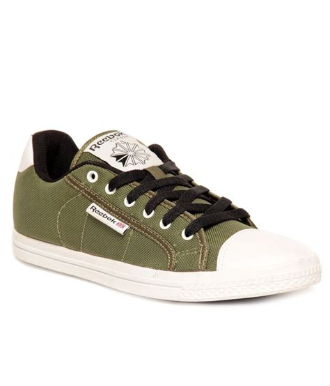 buy reebok on court iii lp olive green black canvas