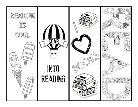 printable summer reading bookmarks reading coloring bookmarks printable bookmark coloring