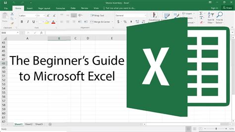 excel online tutorial youtube the beginner s guide to excel excel basics 2017 tutorial