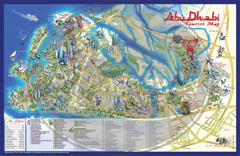 map abu dhabi and dubai abu dhabi map castaway mini cards
