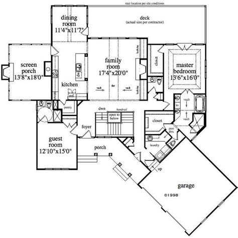 floor plans for mountain homes 4 bedroom 3 bath mountain house plan alp 0954
