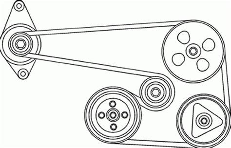 Auto Tensioner Fan Belt Orisinil Chevrolet Aveo Lova Kalos repair guides engine mechanical components accessory drive with 2004 chevy aveo serpentine