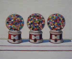 Three machines quot 1963 by wayne thiebaud de young museum san