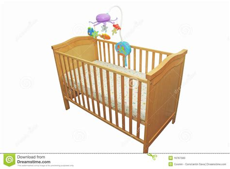 babys bed baby s bed stock photo image 16767560