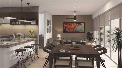 decoracion de comedor y sala cocina y comedor juntos scodio