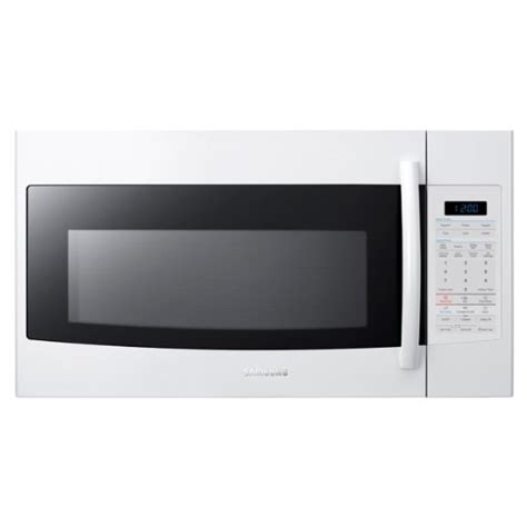 Samsung Ms28j5255ubse Microwave 1 samsung smh1816w 1 8 cu ft white the range microwave kilapumi