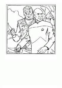 trek coloring pages trek coloring pages