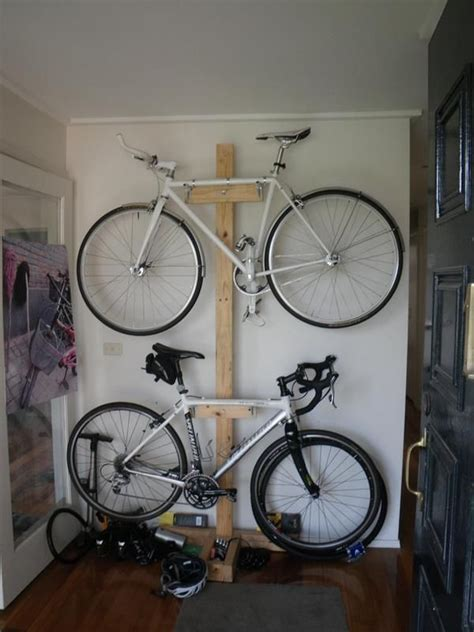 Garage Organization For Bikes Best 25 Bicycle Rack Ideas On Diy Bike Rack